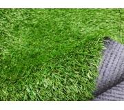Искусственная трава 2 тона высотой 20мм; ширина 2м