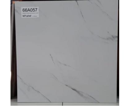 Керамогранит 66A057 белый под мрамор 600x600