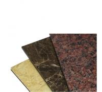 Алюкобонд Crossbond FR Г1 1,22x2,44 толщ 4мм камень