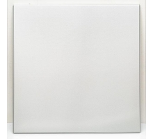 Кассета Албес AP600A6, 600x600x0,4 мм, Tegular 45°, Белый матовый, Алюминий