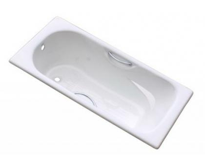 Ванна чугунная 1800х800х450 с ручками Donni