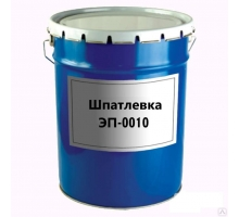 Шпатлевка ЭП-0010 (красно-корич.) 1уп-32,5кг