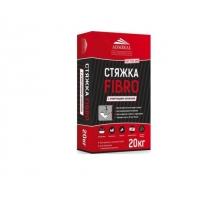 Цементная стяжка для пола ADMIRAL FIBRO 20кг