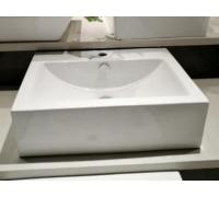 Раковина накладная LT-2073 белый 520x415x155