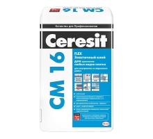 Ceresit см 16 Эластичный клей для любых видов плитки 25 кг