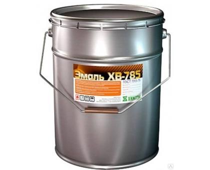 Эмаль ХВ-785 (бел.,сер.) 1уп-50кг