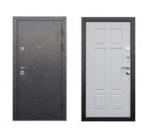 Металлическая дверь Аляска 9 см антик (серебро, сосна белая) 860(960)x2050 мм