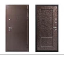 Металлическая дверь Феррум Антик металл/металл 2050x860(960)x100 наполнение минеральная плита