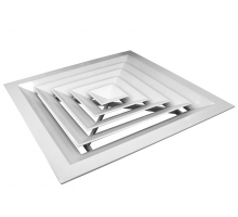 Вентиляционная решётка С004, 600x600 мм