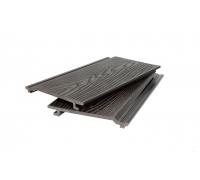 Фасадная доска/панель (3D фактура дерева E) POLIVAN GROUP коллекция DENPASAR (21*180*3000 мм) из ДПК