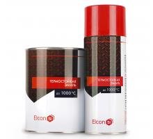 Эмаль термостойкая ELCON до +1000С (чёрн.) 1уп-25кг