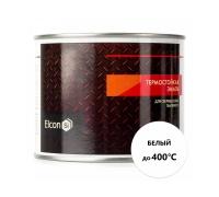 Эмаль термостойкая ELCON до +400С (красн.,бел.) 1уп-25кг