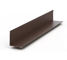 Фронтон оцинк 125x115мм, длина 2500мм