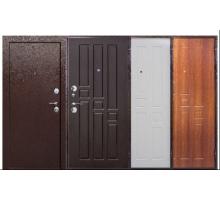 Металлическая дверь Гарда внутр. открывание венге,белый ясень,рустикальный дуб 2050x860(960)x60 наполнение пенополистирол