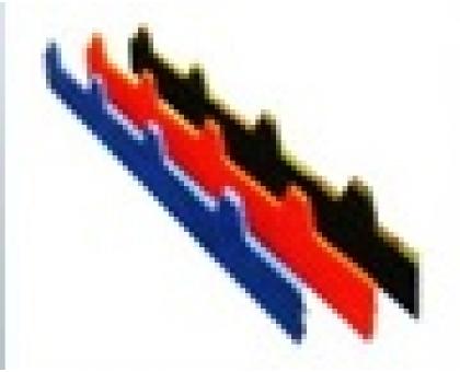 Торцевая заглушка кровли 1000x175