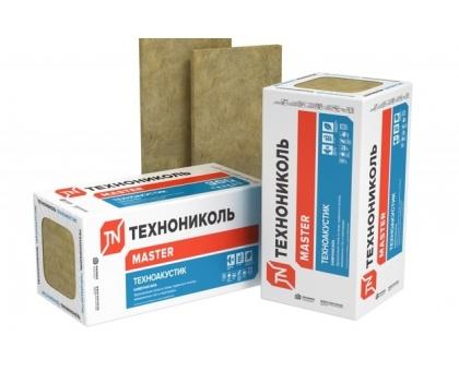 ТЕХНОАКУСТИК 1200x600x50 мм 6 плит 1,08м3 (без поддона) плотность 40-50 кг-м3