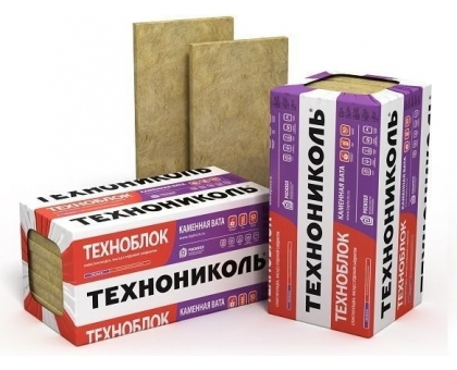 Плиты минераловатные ТЕХНОФЛОР СТАНДАРТ 1200х600х50 мм, 6 плит  (уп) плотность 40-50 кг-м3