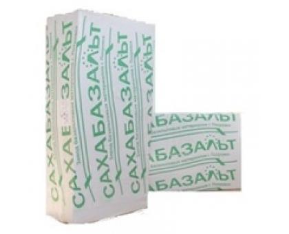 Сахабазальт ПП-80 толщ50-100мм ,1200x600 плотность 80-90 кг-м3, в 1пачке 0,216м3