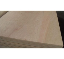 Фанера тополь-береза 4мм (сорт 2-2 фк шлиф 2) 1,22х2,44 КНР