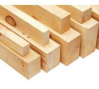 Брусок деревянный обрезной 70 х 50 (длина 4м) Сосна