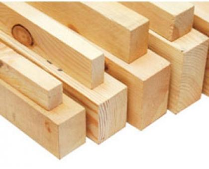 Брусок деревянный обрезной 25 х 50 (длина 4м) Сосна