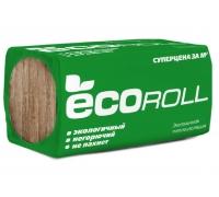 Минвата Экорoлл пл10 50x1220x8200мм, 1-2шт, 1,00м3 (20квм) рулон