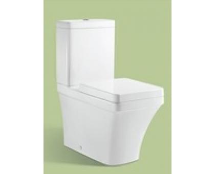 Унитаз-компакт, вып 90 гр., MFZ-41D White (белый) 660x350x785