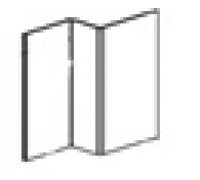 Профиль оцинкованный вертикальный промежуточный (L=3 м.п.) 25х21,5х40х1,1