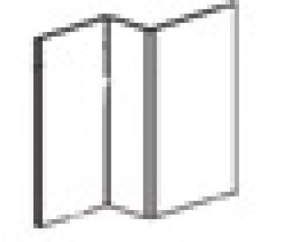 Профиль оцинкованный вертикальный промежуточный (L=3 м.п.) 25х21,5х40х1,2