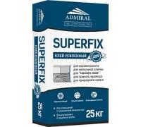 Клей для керамогранита и теплого пола Admiral Superfix