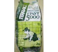 Затирка Terraco grout 5000 2 кг белая