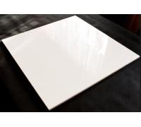 Керамогранит полиров.белый 600x600