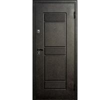 Дверь метал. Венеция 32-4 2050х860х68 венге с патиной левая  + 1б. пены монтажной Атом 60 утепл. Пенополистирол
