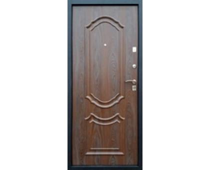 Дверь метал. Венеция 32-4 2050х860х68 венге с патиной правая + 1б. пены монтажной Атом 60 утепл. Пенополистирол