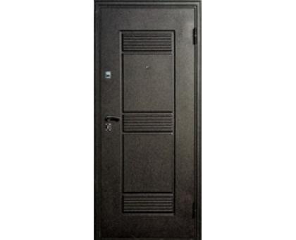 Дверь метал. Византия  36-1 2050х860х68 дуб золотистый правая + 1б. пены монтажной Атом 60 утепл. Пенополистирол