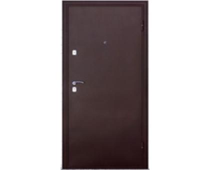 Дверь метал. Волна 14-10 2050х860х65 клен левая + 1б. пены монтажной Атом 60 утепл. Пенополистирол