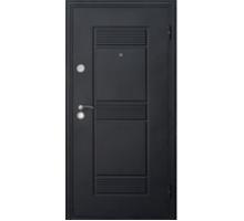 Дверь метал. Неаполь 3D 2050х860х68 беленый дуб левая +1б. пены монтажной Атом 60 утепл. Пенополистирол