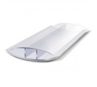 Соединительный н-профиль защелкивающий, 6-10мм x 6 м, прозрачный