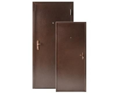 Металлическая дверь Стройгост 5-1 метал внеш.открывание 2060x880(980)x50 (наполнение жесткий ячеистый гофрокартон)