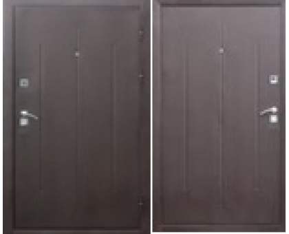 Металлическая дверь Стройгост 7-2 метал. 2050x860(960)x65 наполнение минер.плита
