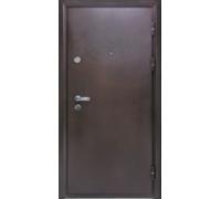 Металлическая дверь Йошкар 7см метал 3 петли 2050x860(960)x70 наполнение минеральная вата