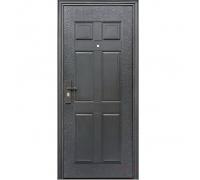 Металлическая дверь К-13 6,5 см 2050x860(960) 2 петли, наполнение жесткий ячеистый гофрокартон