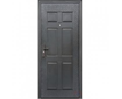 Металлическая дверь К-13 4,0 см 2050x860(960) 2 петли, наполнение жесткий ячеистый гофрокартон