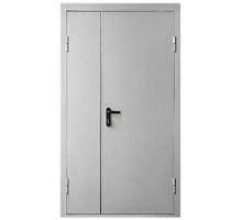 Противопожарная метал дверь 2050x960 (2050x860) огнестойкая минеральная вата ,со стеклом (300x400)