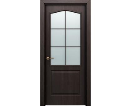 Дверь Палитра Венге остекл. 60см, 70 см, 80 см