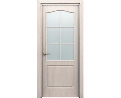 Дверь Палитра дуб Паллада остекл. 60см, 70 см, 80 см, 90 см