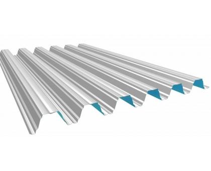 Профнастил НС-21 Оцинкованный толщ0,45мм, ширина 1051x1000мм, Длина до 13000мм