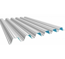 Профнастил н-75 Окрашенный толщина-0,7мм, ширина-800x750мм, Длина до 12700мм