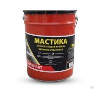 Мастика битумно-резиновая СТН Standart, ведро 3 кг