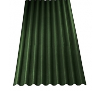 Ондулин Smart Зеленый, 1950x950x3 мм  S-1,85м2
